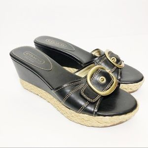 Coach Greer Wedge Espadrille